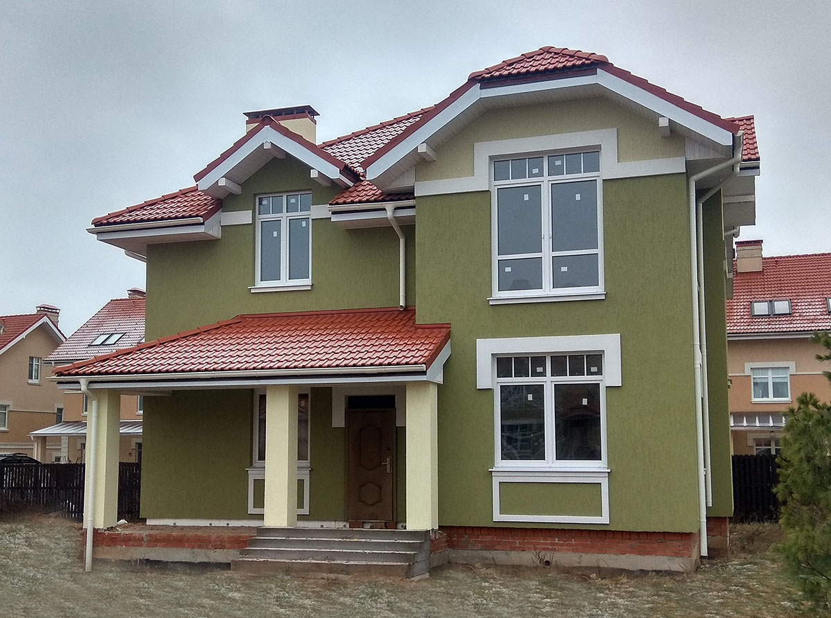 Новый коттедж 170 м²